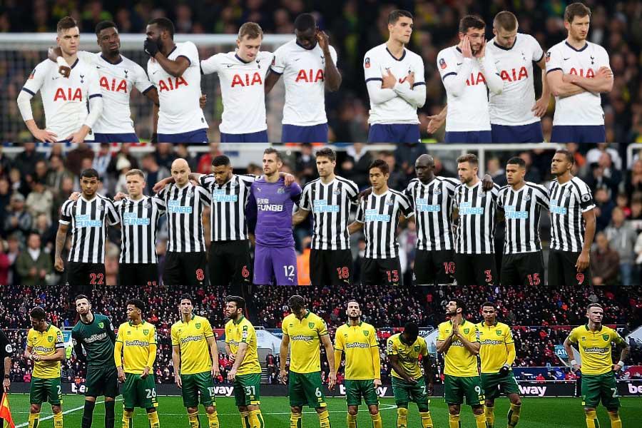 トッテナム、ニューカッスル、ノリッジ・シティの3クラブは、クラブスタッフの給与カットを決定【写真:Getty Images】