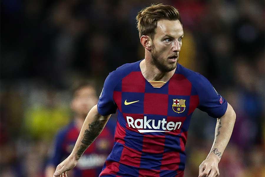 バルセロナのクロアチア代表MFイバン・ラキティッチ【写真:Getty Images】
