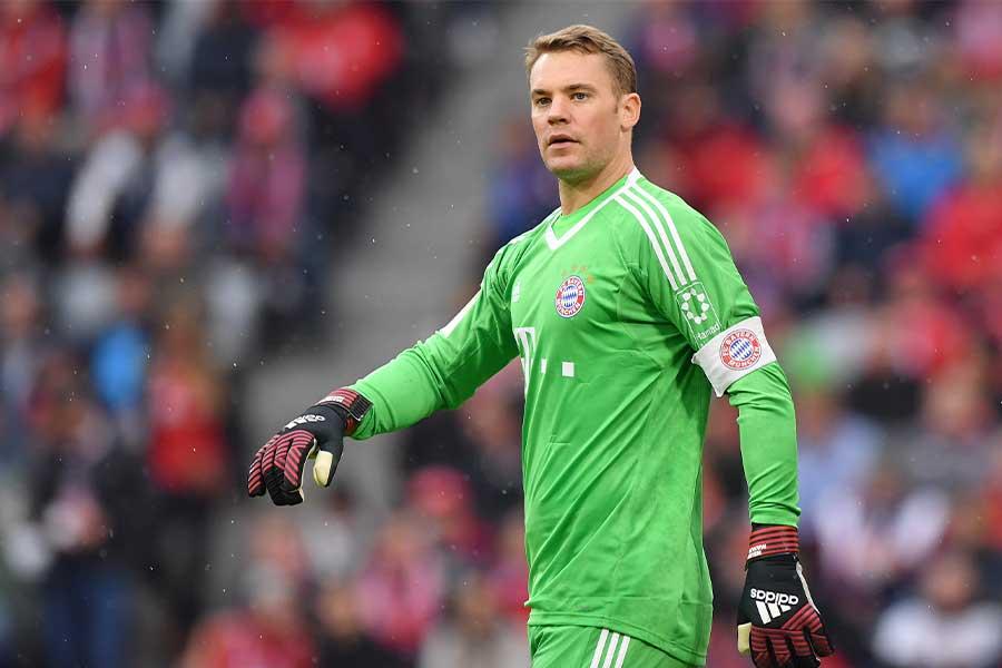 バイエルン・ミュンヘンでプレーするドイツ代表GKマヌエル・ノイアー【写真:Getty Images】