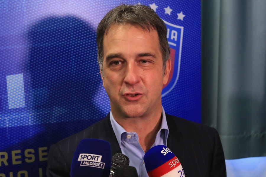 UEFAのミケーレ・ウーヴァ副会長【写真:Getty Images】