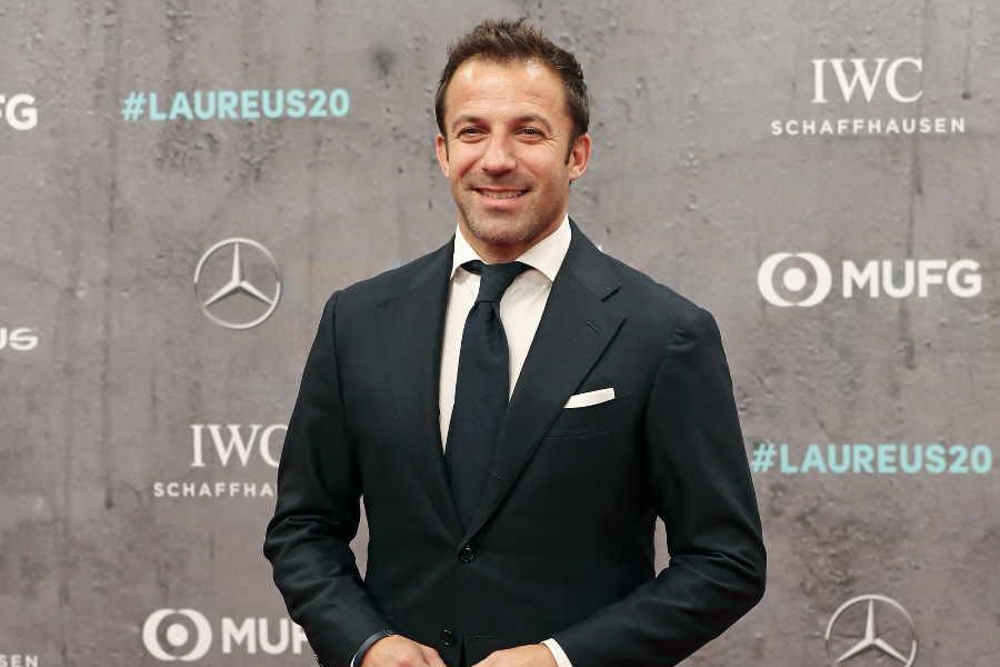 元イタリア代表FWアレッサンドロ・デル・ピエロ氏【写真:Getty Images】