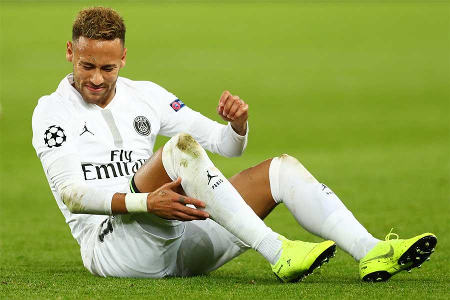 PSGでプレーするブラジル代表FWネイマール【写真:Getty Images】