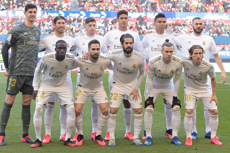 レアル・マドリードが選手たちの給与削減について交渉中のようだ【写真:Getty Images】