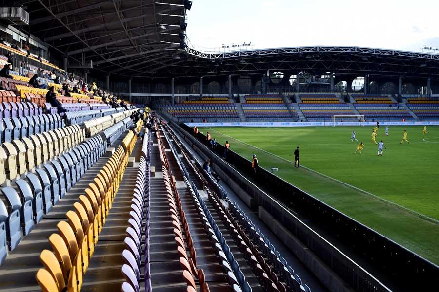 ベラルーシで行われた試合のスタンドには驚きの光景が…(写真はイメージです)【写真:Getty Images】