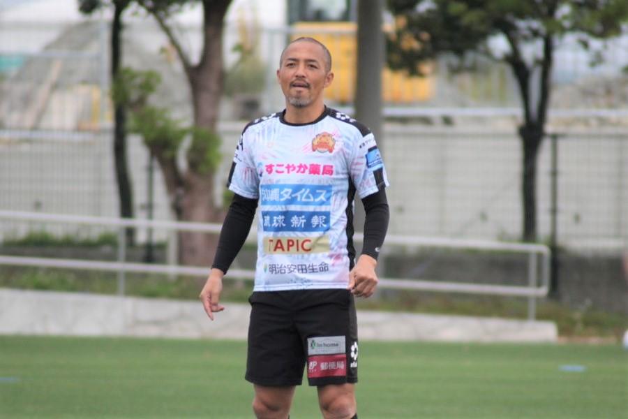 FC琉球の元日本代表MF小野伸二【写真:©FC RYUKYU】