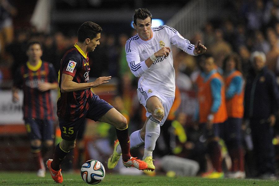 レアル・マドリードFWギャレス・ベイルの2014年クラシコでの印象的なゴールに再脚光【写真:Getty Images】