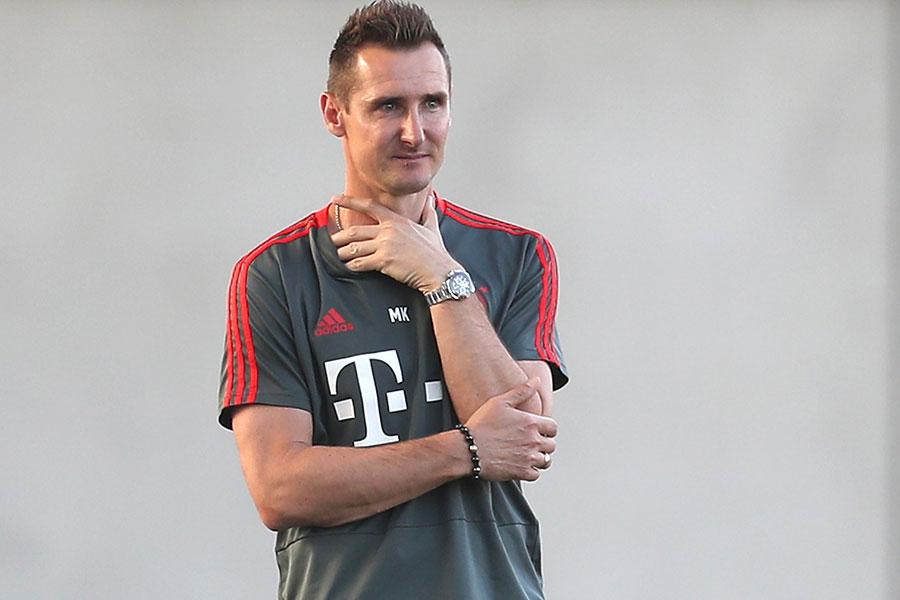 バイエルンのユースチームで監督を務めるクローゼ氏がトップチームのコーチに就任か【写真:Getty Images】