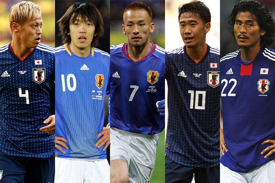 直近20年間の日本代表ベストイレブンに選ばれた名選手たちは?【写真:Getty Images】