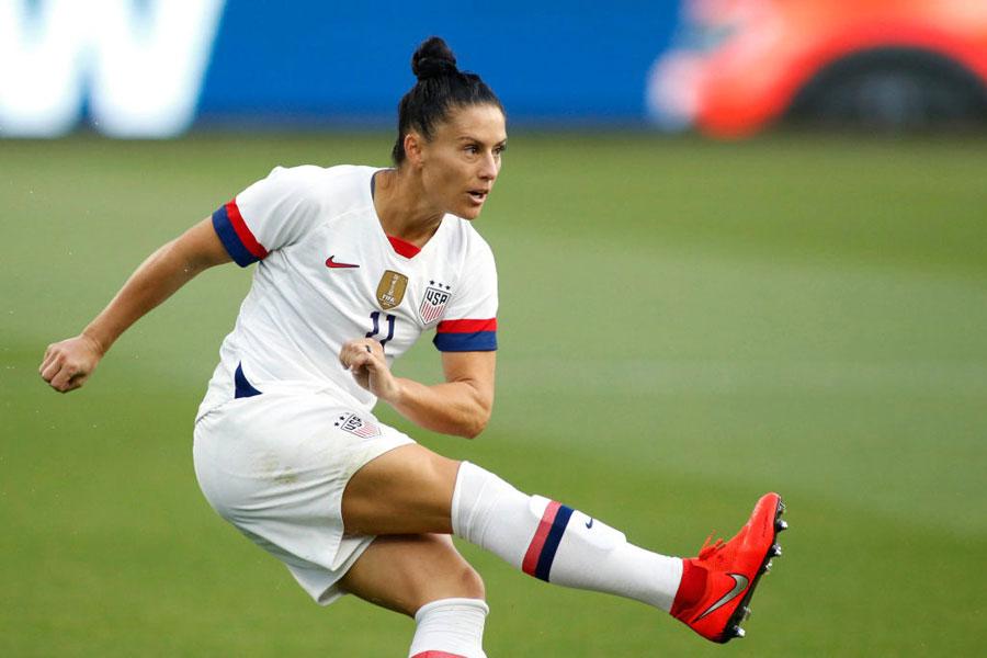 アメリカ女子代表DFクリーガー【写真:Getty Images】