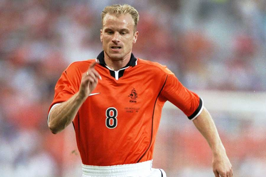 元オランダ代表FWベルカンプ【写真:Getty Images】