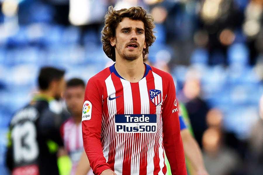 バルセロナ加入が噂されているFWグリーズマンだが…【写真:Getty Images】