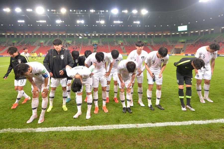 U-18韓国代表のマナーのない行動が物議を醸している(写真はイメージです)【写真:Getty Images】