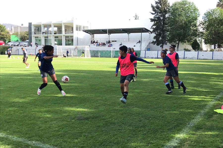 メキシコでは男子の1部リーグの全チームが、女子チームも持つことを義務付けられている【写真:福岡吉央】