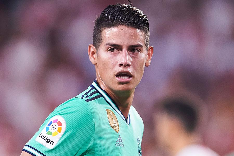 レアル・マドリードに所属するコロンビア代表MFハメス・ロドリゲス【写真:Getty Images】