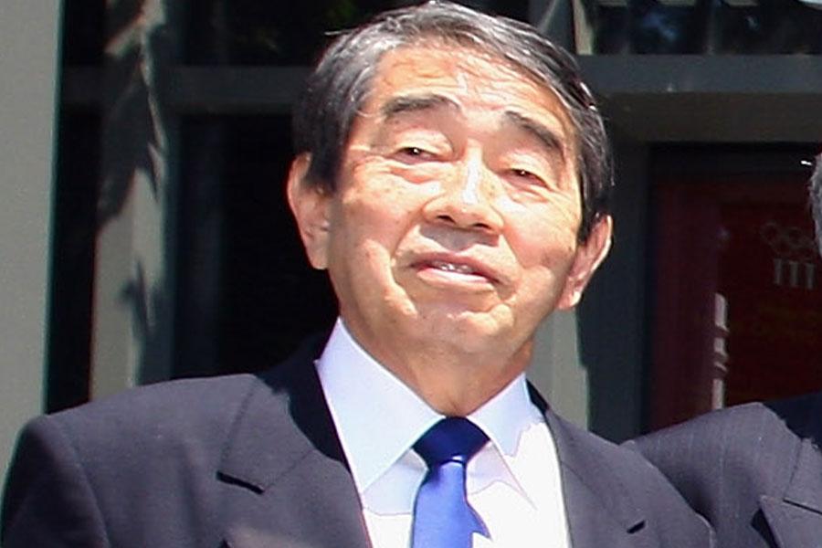 かつてJFAの会長を務めた岡野俊一郎氏【写真:Getty Images】