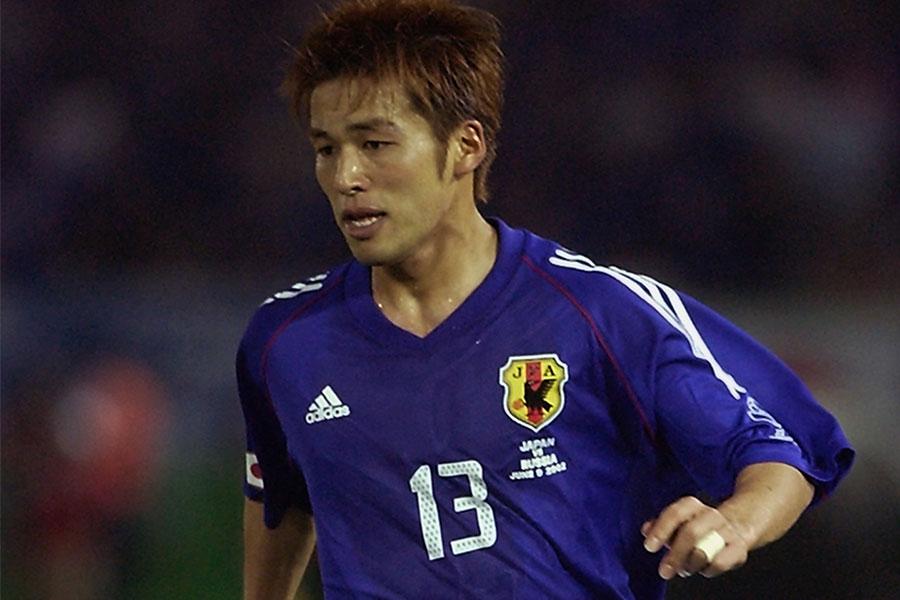 2002年の日韓ワールドカップを戦ったFW柳沢敦【写真:Getty Images】