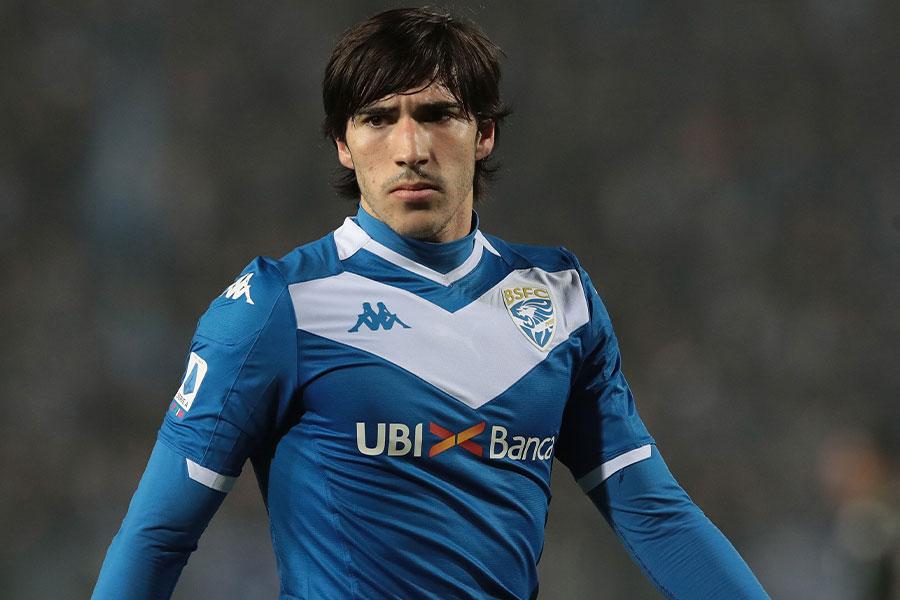 ブレシアでプレーするイタリア代表MFサンドロ・トナーリ【写真:Getty Images】