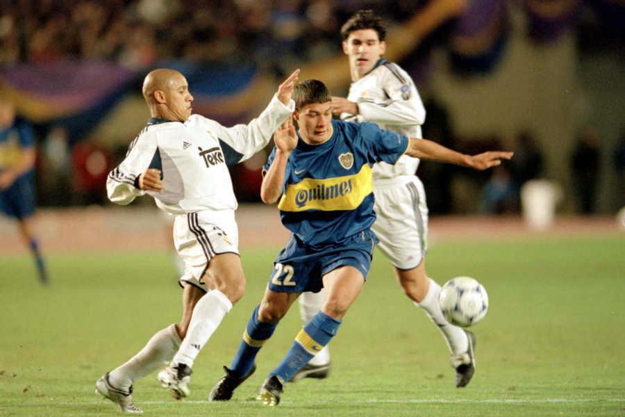 2000年のトヨタカップ(現クラブW杯)でボカはレアルと激突【写真:Getty Images】