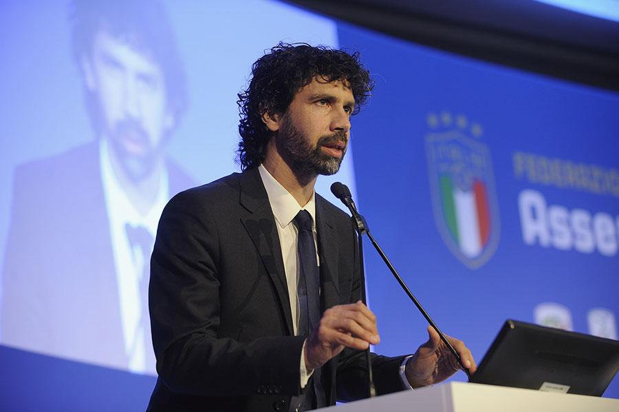 イタリア選手会の会長を務める元イタリア代表MFダミアーノ・トンマージ氏【写真:Getty Images】