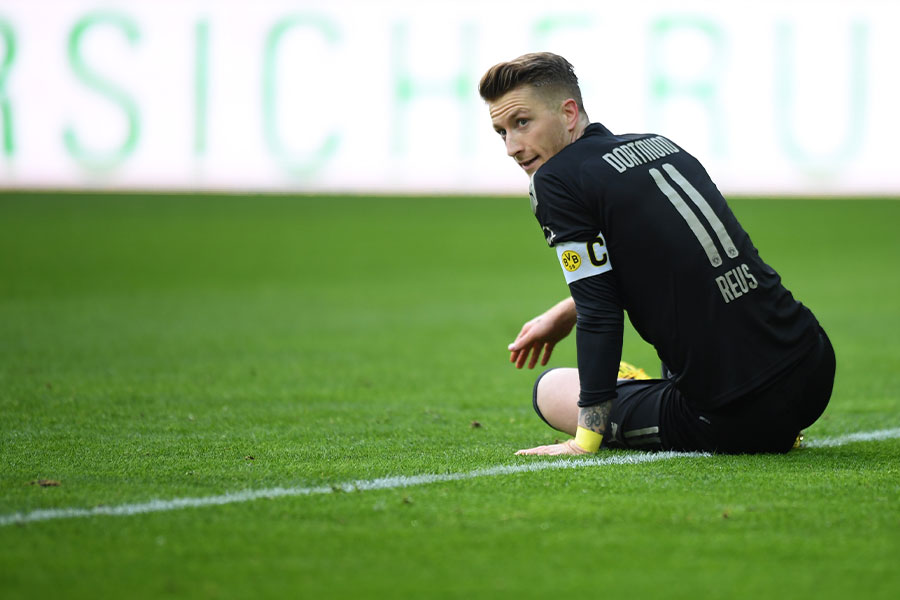 ドルトムントMFマルコ・ロイスが負傷で今シーズンを終了か【写真:Getty Images】