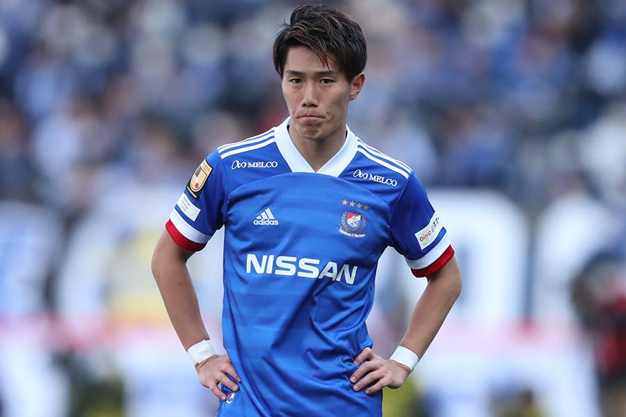 横浜F・マリノスでプレーする日本代表MF遠藤渓太【写真:高橋学】