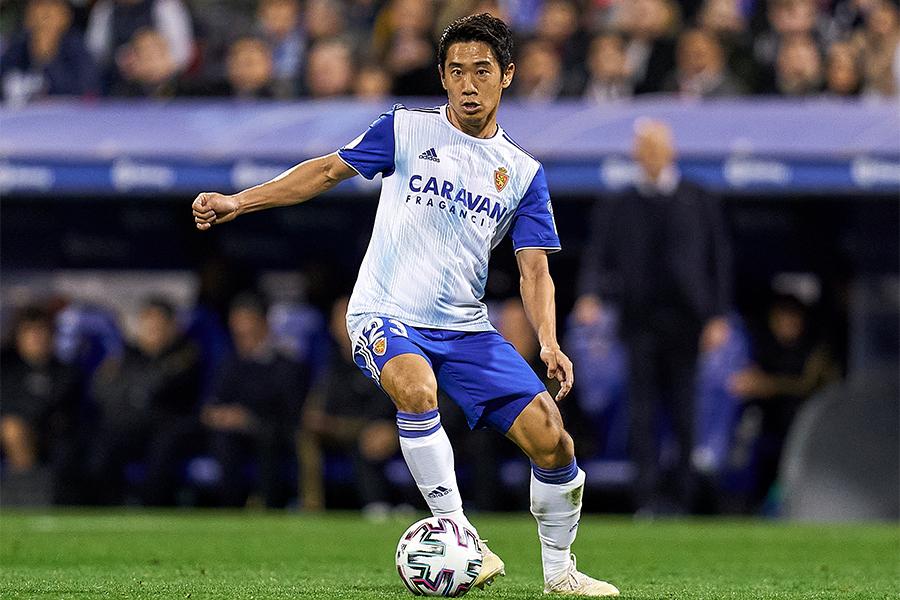サラゴサでプレーするMF香川真司【写真:Getty Images】