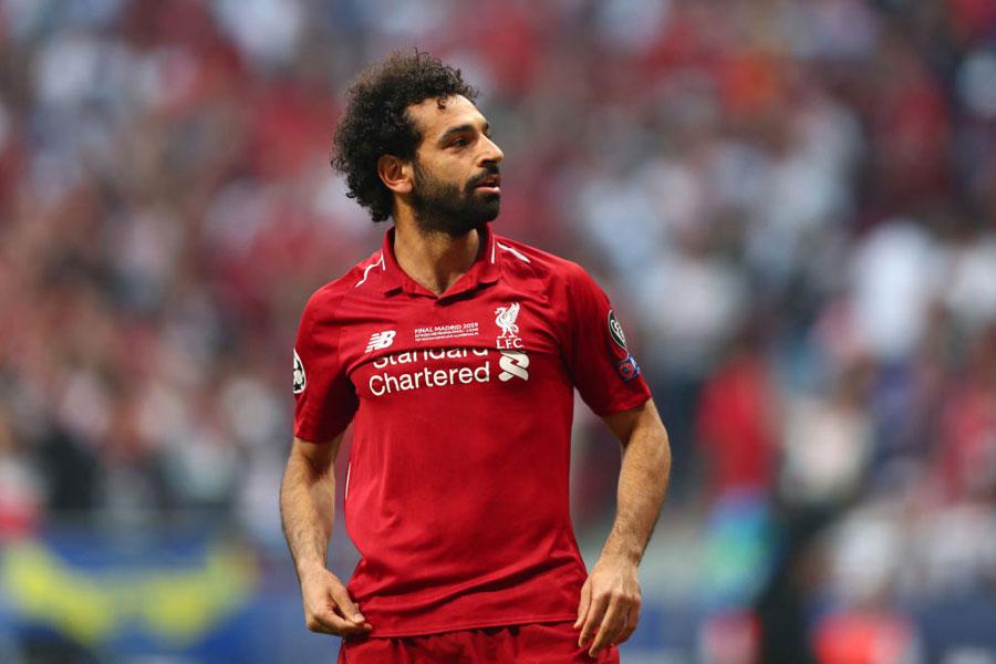 リバプールのエジプト代表FWサラー【写真:Getty Images】