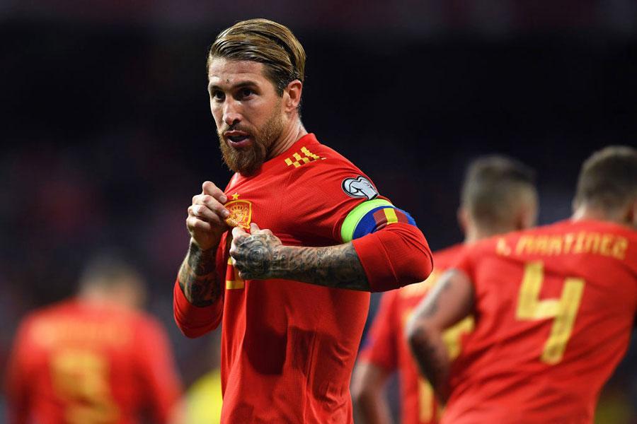 スペイン代表DFセルヒオ・ラモス【写真:Getty Images】