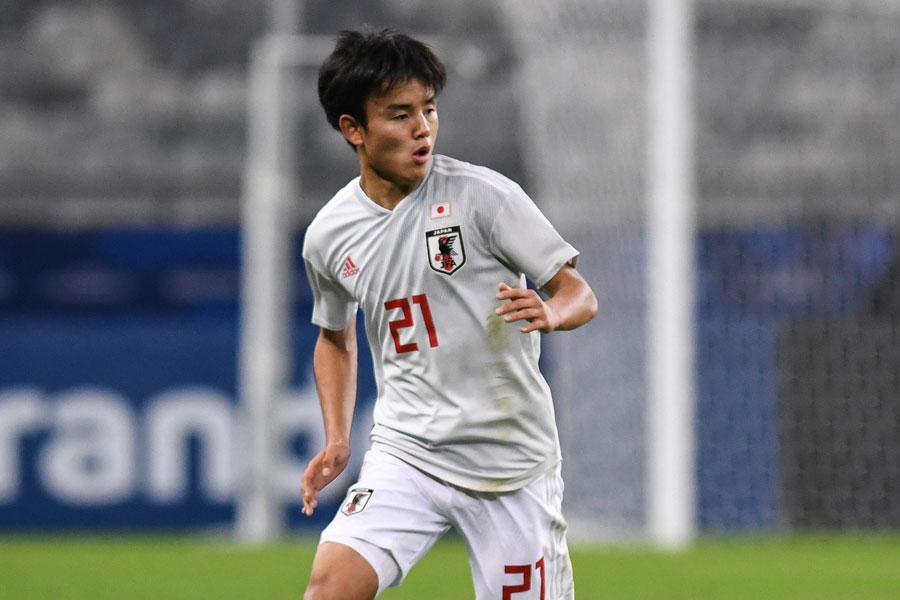 レアル・マドリードに加入した日本代表MF久保建英【写真:Getty Images】