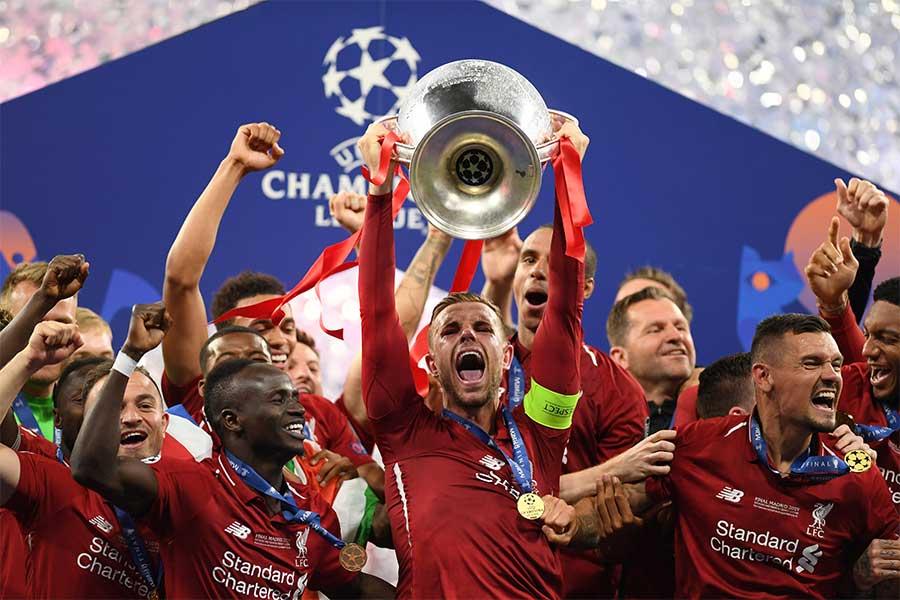 UEFAチャンピオンズリーグ(CL)を制したリバプール【写真:Getty Images】
