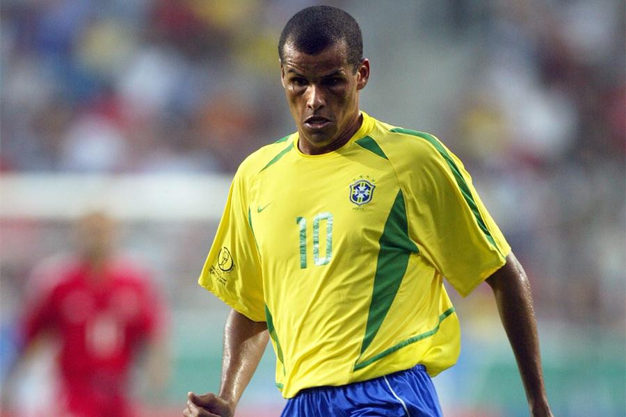 2002年の日韓ワールドカップに出場した元ブラジル代表MFリバウド【写真:Getty Images】