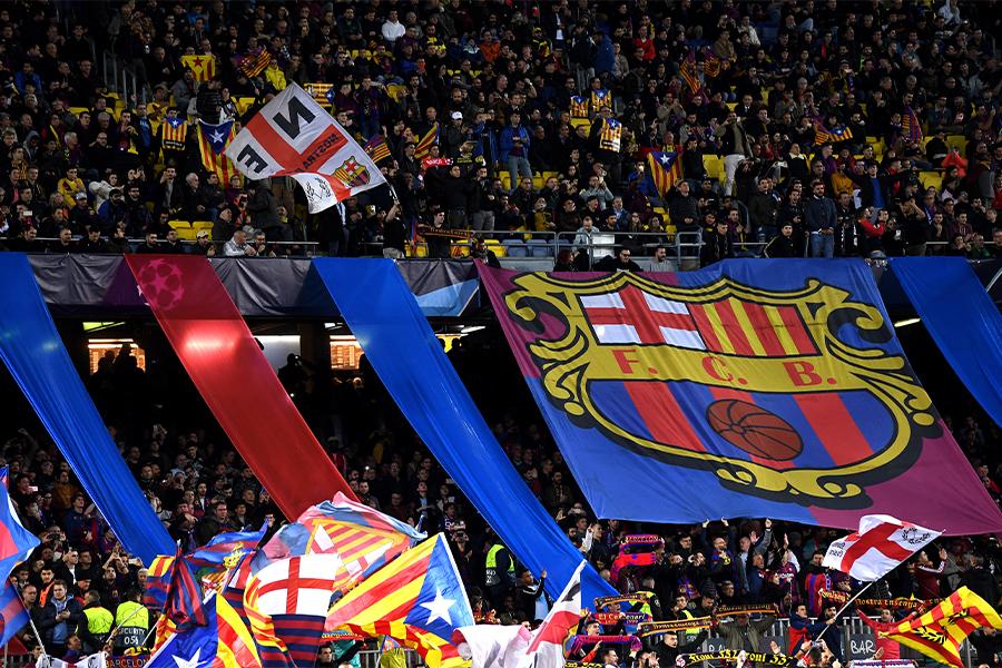 バルセロナは8月までにカンプ・ノウに約3万人の観客動員を予測【写真:Getty Images】