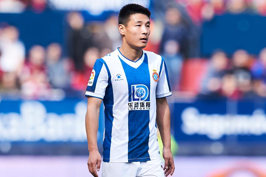 エスパニョールでプレーする中国代表FWウー・レイ【写真:Getty Images】