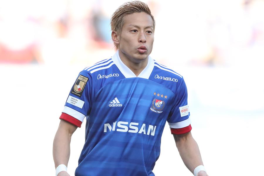 昨シーズンJリーグMVPに選出された横浜F・マリノスFW仲川輝人【写真:高橋学】