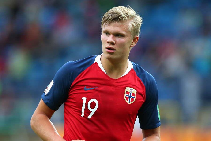 ハーランドはノルウェー代表として活躍している【写真:Getty Images】