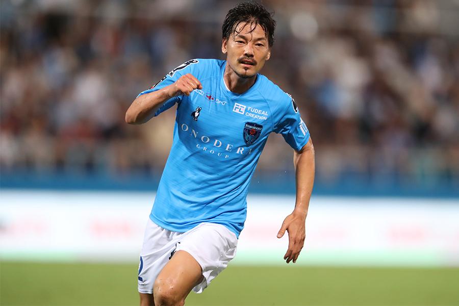 サイゴンFCへ移籍をしたMF松井大輔(写真は2020年シーズンの横浜FC所属時)【写真:高橋学】