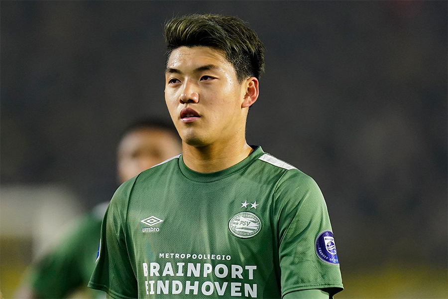 PSVでプレーする日本代表MF堂安律【写真:Getty Images】