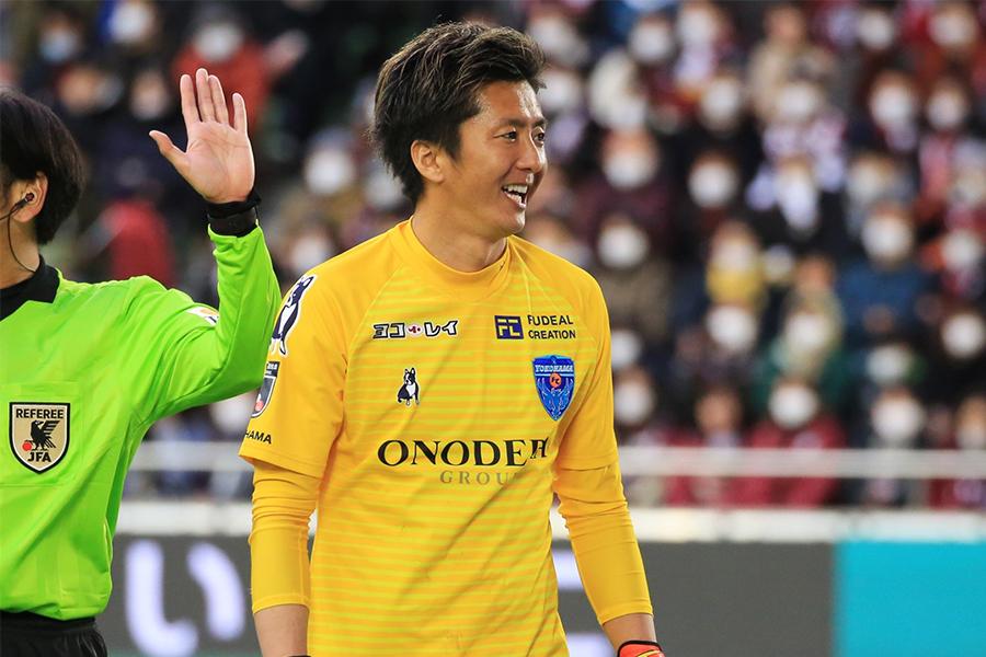 横浜FCのGK六反勇治【写真:Noriko NAGANO】