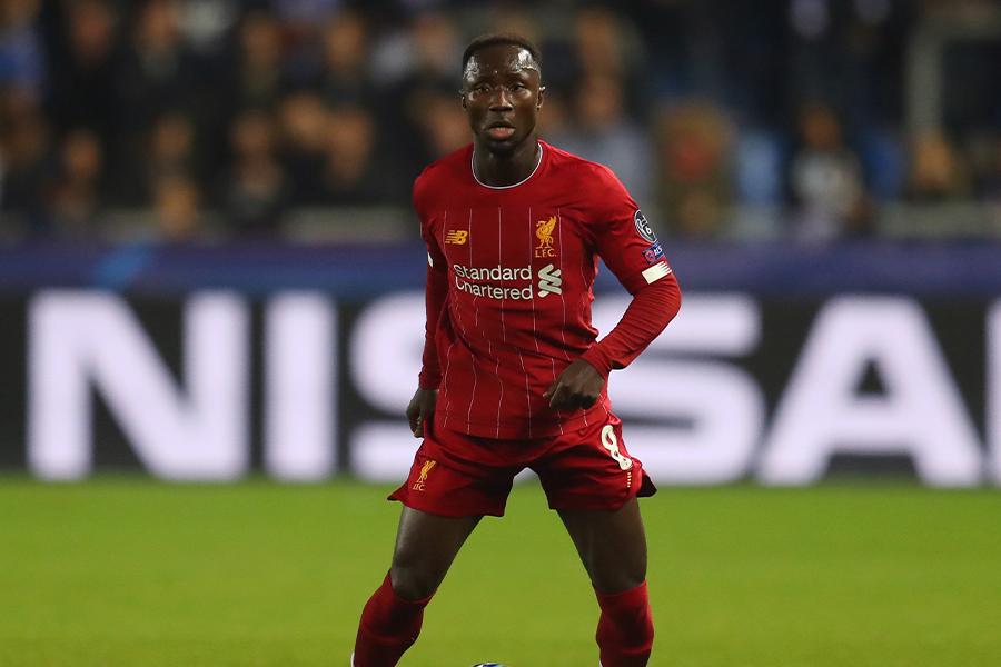 リバプールでプレーするギニア代表MFナビ・ケイタ【写真:Getty Images】