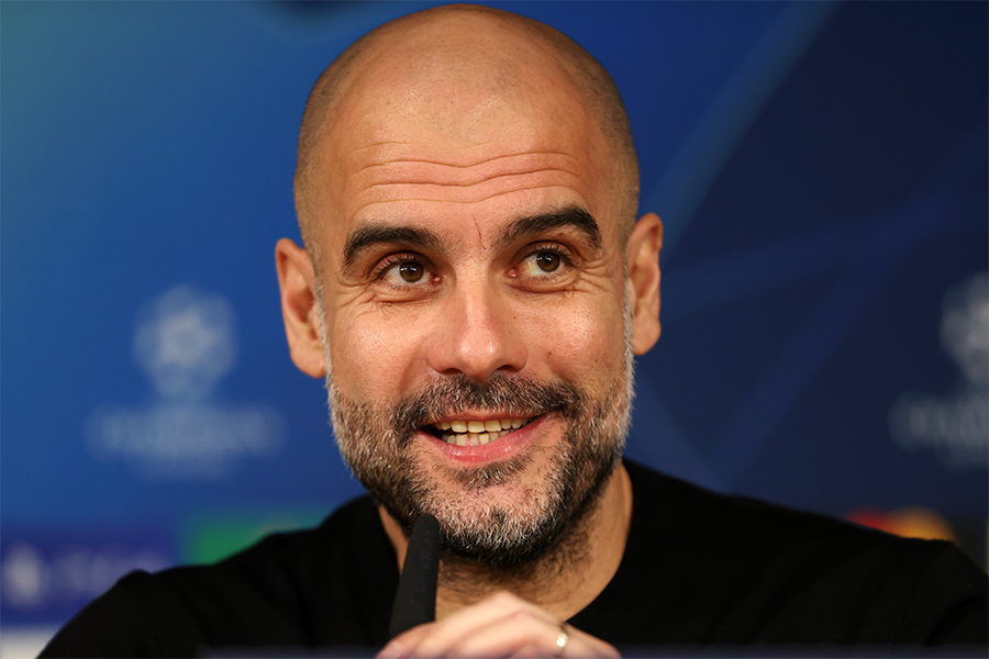 マンチェスター・シティのグアルディオラ監督がリバプールの優勝について言及【写真:Getty Images】