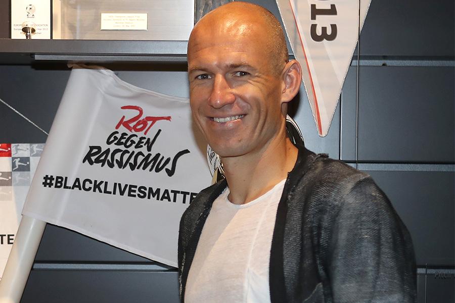 オランダのフローニンゲンで現役復帰を果たしたFWアリエン・ロッベン【写真:Getty Images】