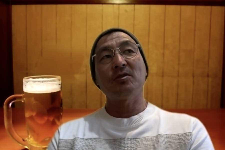 Football ZONE webのインタビューに応じた中田一三氏【写真:Football ZONE web】
