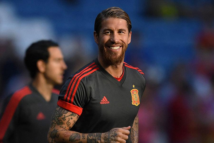 レアル・マドリードのスペイン代表DFセルヒオ・ラモス【写真:Getty Images】