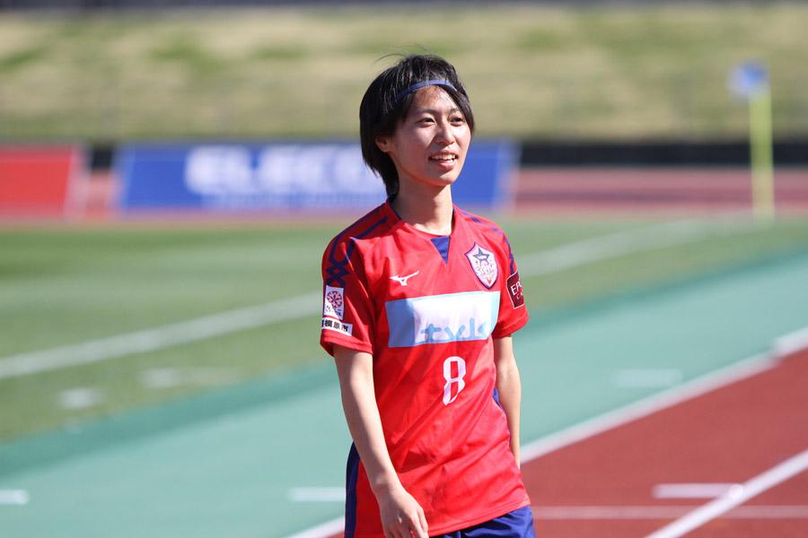 スペイン女子1部ウエルバへの加入が正式に発表されたMF田中陽子【写真:Football ZONE web】