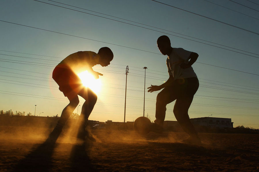 インターハイの短期集中開催はこれまでも問題視されてきたが…(写真はイメージです)【写真:Getty Images】