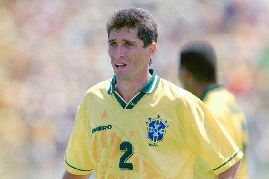 鹿島アントラーズのレジェンドで、ブラジル代表でも活躍したDFジョルジーニョ【写真:Getty Images】