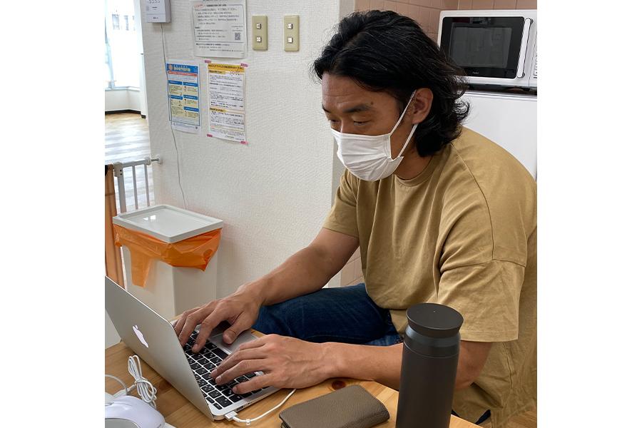引退後は児童発達支援の事業を運営している増川隆洋【写真:本人提供】