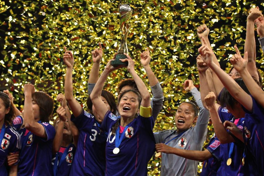 2011年女子W杯を制したなでしこジャパンにFIFAが再脚光【写真:Getty Images】