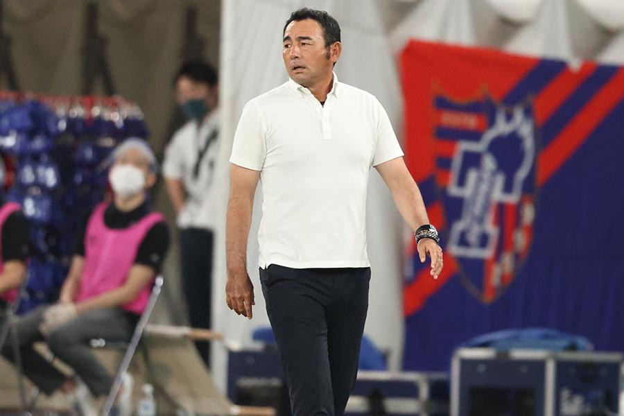 FC東京の長谷川健太監督【写真:高橋学】