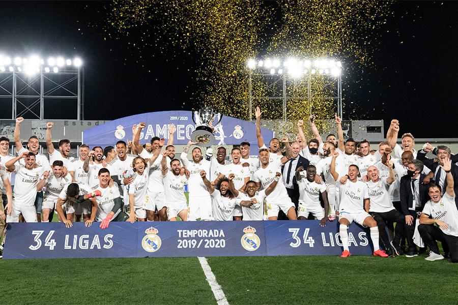 3シーズンぶりにリーガ制覇を果たしたレアル・マドリードをカペッロ氏が称賛【写真:Getty Images】